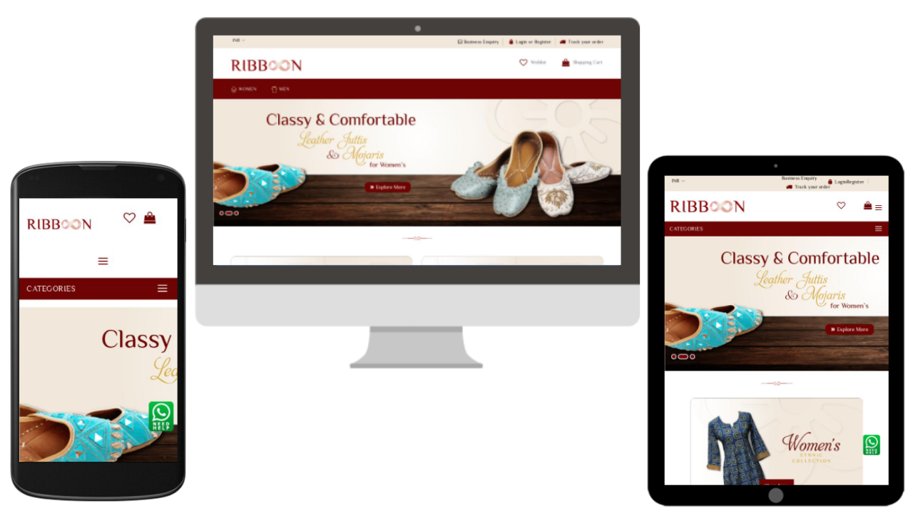 online shopping site